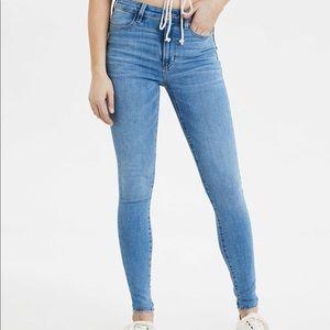 AEO Super High Waisted Skinny Jeans